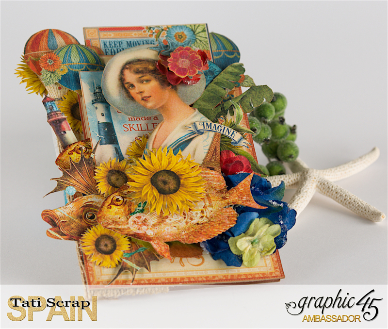 Tati, Photo Display, Product by Graphic 45, Photo 1