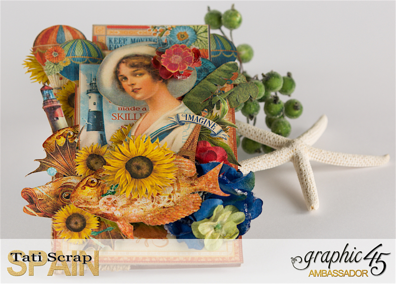 Tati, Photo Display, Product by Graphic 45, Photo 3