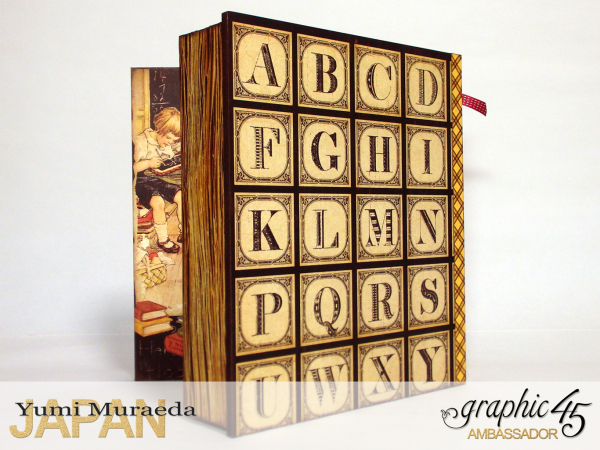 1My Memory Drawers, An Abc Primer, by Yumi Muraeda, Product by Graphic 45.