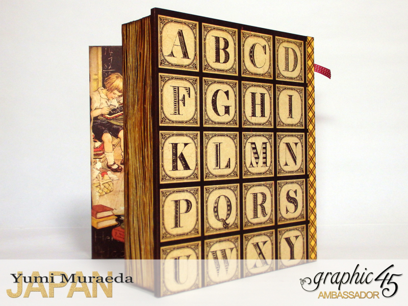 3My Memory Drawers, An Abc Primer, by Yumi Muraeda, Product by Graphic 45.