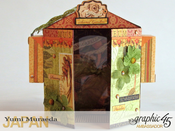 2Secret Gaden Museum, Botanicabella, by Yumi Muraeda, Product by Graphic 45.