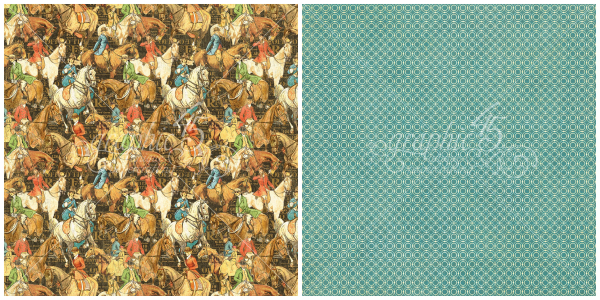 8 - Hot to Trot, from Off to the Races, a new collection from Graphic 45