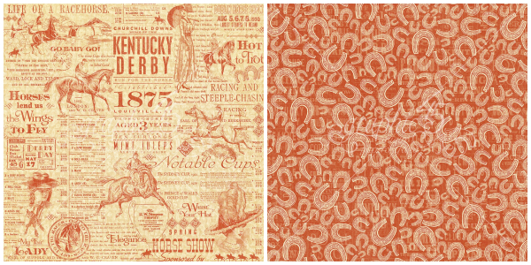 11 - Triple Crown, from Off to the Races, a new collection from Graphic 45