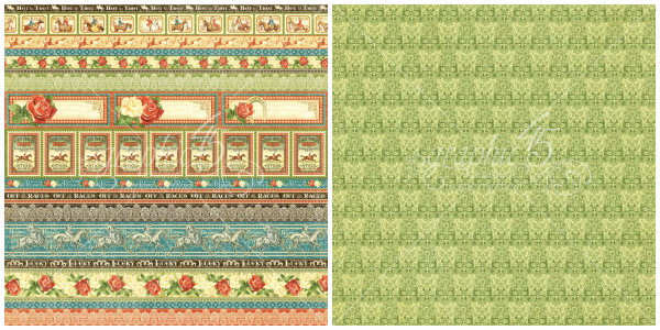 12 - Equestrian Style, from Off to the Races, a new collection from Graphic 45