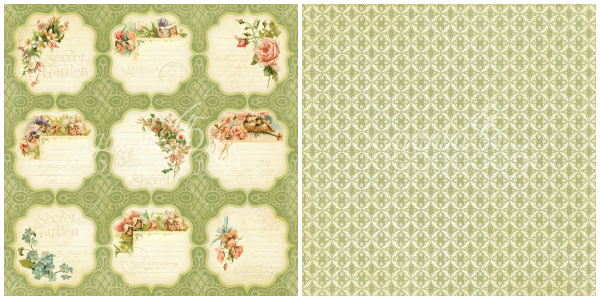 8 - Meadow Lark,  from our newest Deluxe Collector's Edition, Secret Garden!