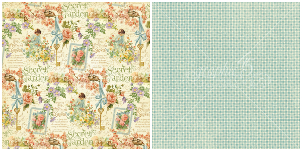 9 - Posy Patch  from our newest Deluxe Collector's Edition, Secret Garden!