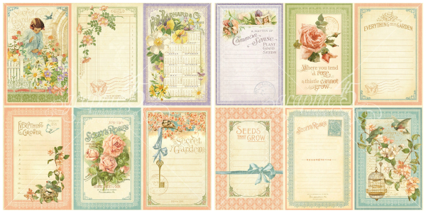12 - May Flowers  from our newest Deluxe Collector's Edition, Secret Garden!