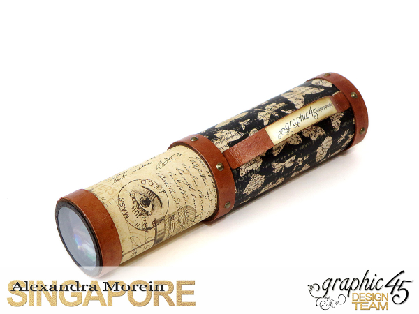 DIY Craft Paper Roll, project by Alexandra Morein, Product by Graphic 45, Photo 1