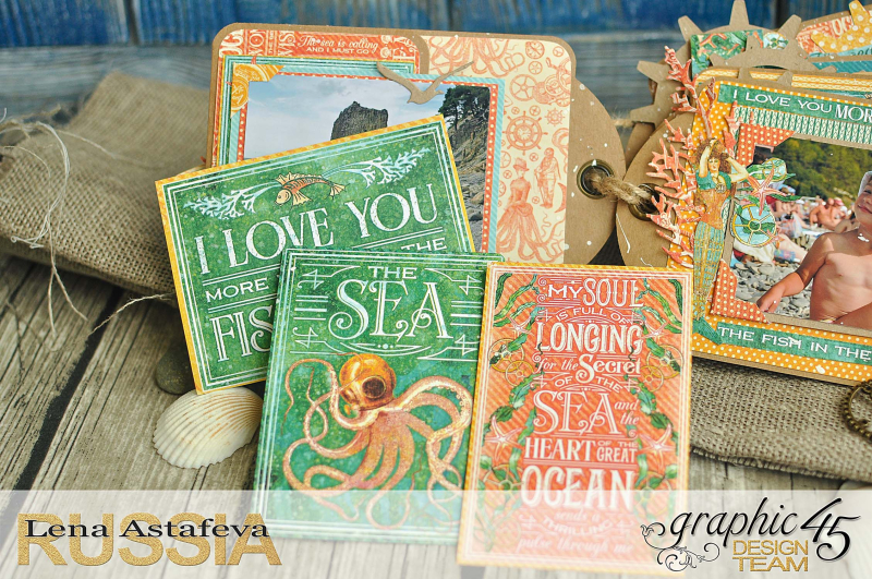 Mini-album-tag-Voyage Beneath the Sea- by Lena-Astafeva-product by Graphic 45 (17 из 38)