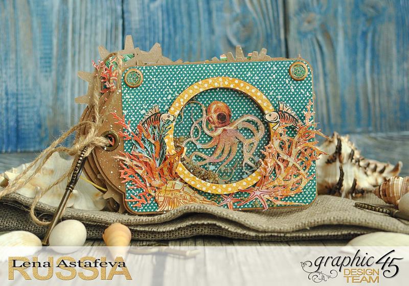 Mini-album-tag-Voyage Beneath the Sea- by Lena-Astafeva-product by Graphic 45 (2 из 38)