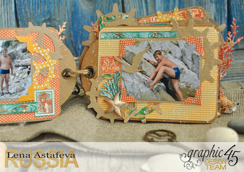 Mini-album-tag-Voyage Beneath the Sea- by Lena-Astafeva-product by Graphic 45 (24 из 38)
