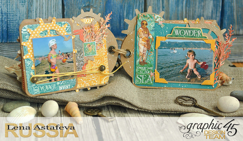 Mini-album-tag-Voyage Beneath the Sea- by Lena-Astafeva-product by Graphic 45 (26 из 38)