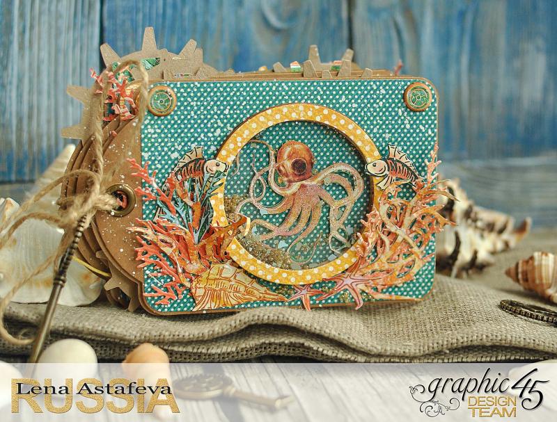 Mini-album-tag-Voyage Beneath the Sea- by Lena-Astafeva-product by Graphic 45 (3 из 38)