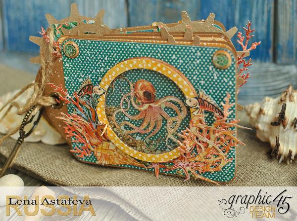 Mini-album-tag-Voyage Beneath the Sea- by Lena-Astafeva-product by Graphic 45 (10 из 38)