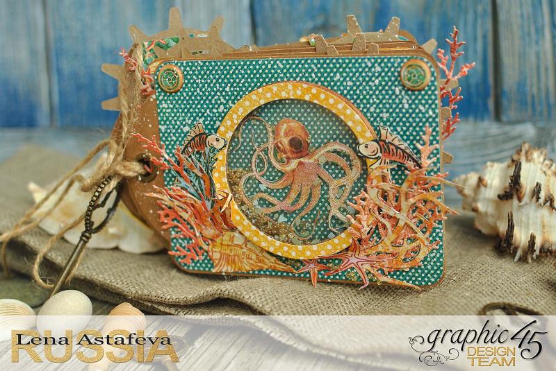 Mini-album-tag-Voyage Beneath the Sea- by Lena-Astafeva-product by Graphic 45 (5 из 38)