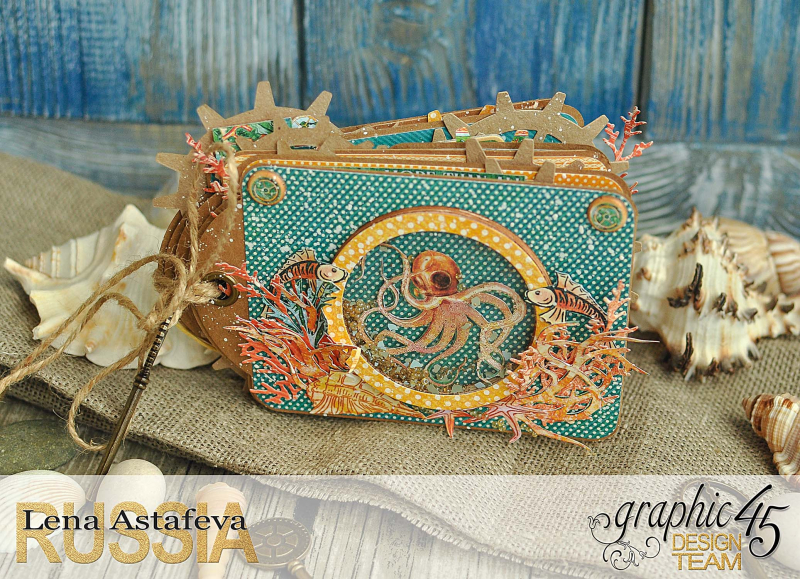 Mini-album-tag-Voyage Beneath the Sea- by Lena-Astafeva-product by Graphic 45 (9 из 38)