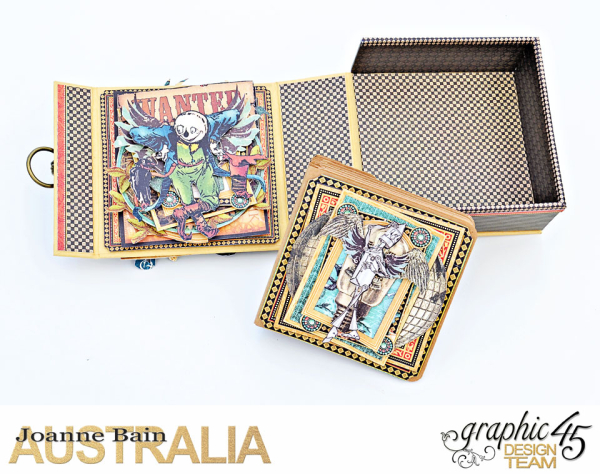 Boxed-Mini-Album,-Magic-Of-Oz,-By-Joanne-Bain,-Product-by-Graphic-45,-Photo-5