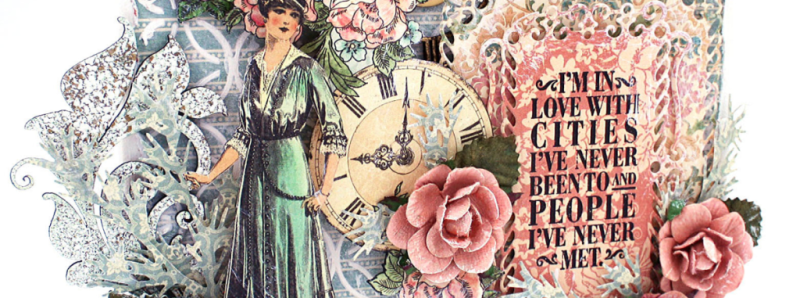 Canvas, Ladies Diary, Maggi Harding, Graphic 45 (4)