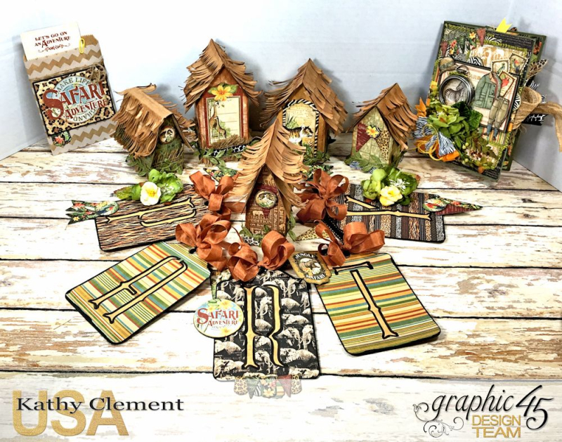 Zoo Party Ensemble, Safari Adventure by Kathy Clement, Product by Graphic 45 Photo 5