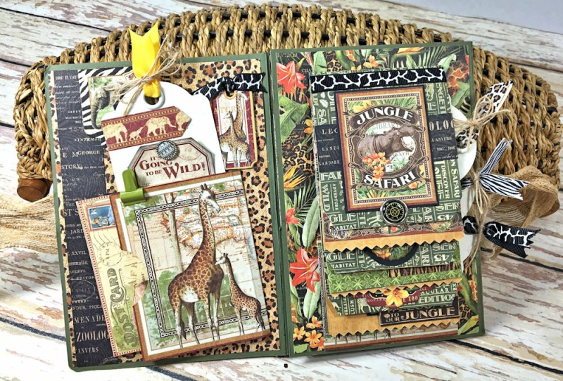 Zoo Party Ensemble, Safari Adventure by Kathy Clement, Product by Graphic 45 Photo 24