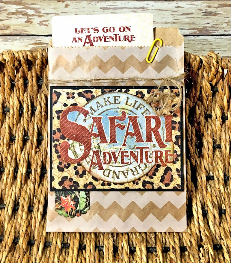 Zoo Party Ensemble, Safari Adventure by Kathy Clement, Product by Graphic 45 Photo 11
