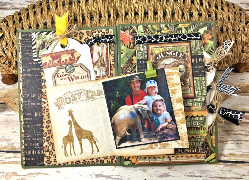 Zoo Party Ensemble, Safari Adventure by Kathy Clement, Product by Graphic 45 Photo 25