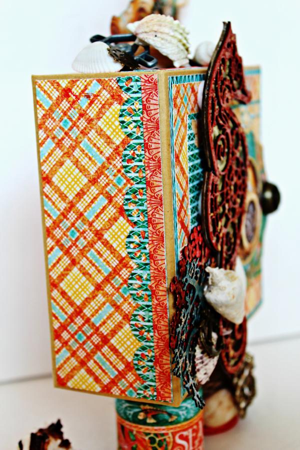 Graphic 45 The Sea is Calling Me Mini Album - Tutorial - Pam Bray 10_0640