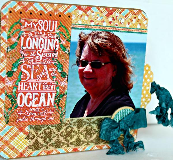 Graphic 45 The Sea is Calling Me Mini Album - Tutorial - Pam Bray 25_0659