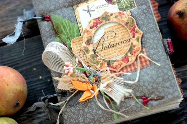 Botanica Journal Book, by Elena Olinevich, product by Graphic45, Photo1a