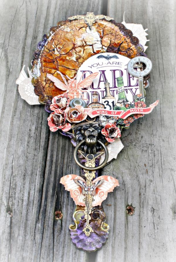 Rare Oddities mirror by Miranda Edney #graphic45