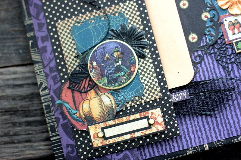 Halloween in Wonderland Album, by Elena Olinevich, product by Graphic45, Photo1a(1)