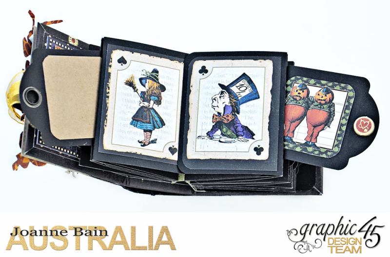 Mini-Tag-Album,-Halloween-In-Wonderland,-By-Joanne-Bain,-Product-by-Graphic-45,-Photo-11
