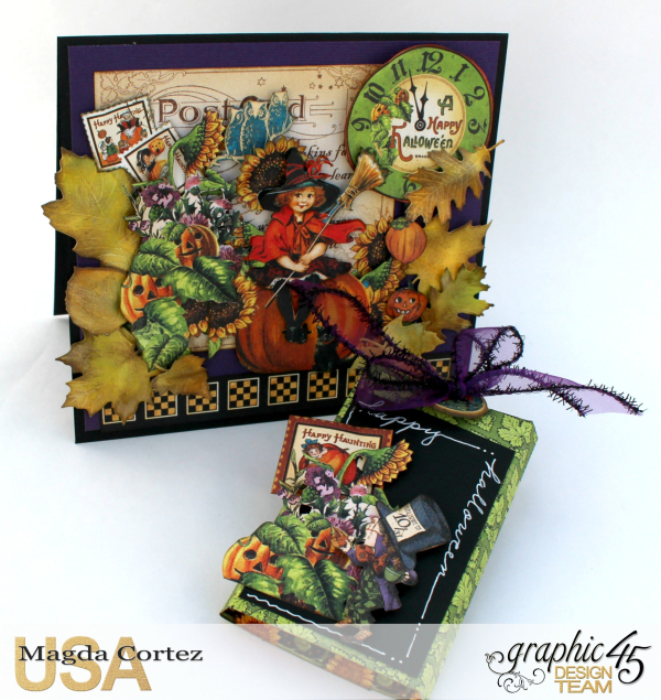 Halloween Cards _ Surprise-Happy Haunting-By Magda Cortez-Product by Graphic 45-Photo Photo 05_09-Project with Tutorial