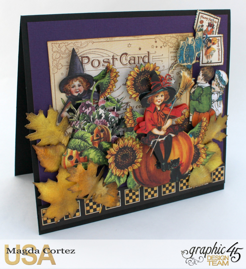 Halloween Cards _ Surprise-Happy Haunting-By Magda Cortez-Product by Graphic 45-Photo Photo 02_09-Project with Tutorial