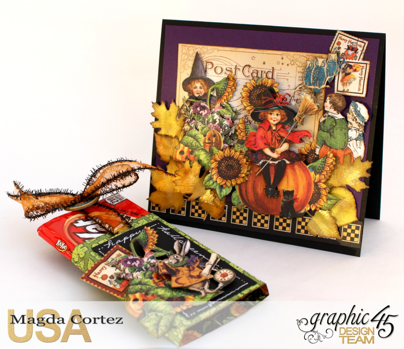 Halloween Cards _ Surprise-Happy Haunting-By Magda Cortez-Product by Graphic 45-Photo Photo 06_09-Project with Tutorial
