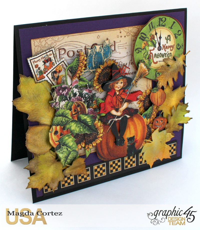 Halloween Cards _ Surprise-Happy Haunting-By Magda Cortez-Product by Graphic 45-Photo Photo 03_09-Project with Tutorial