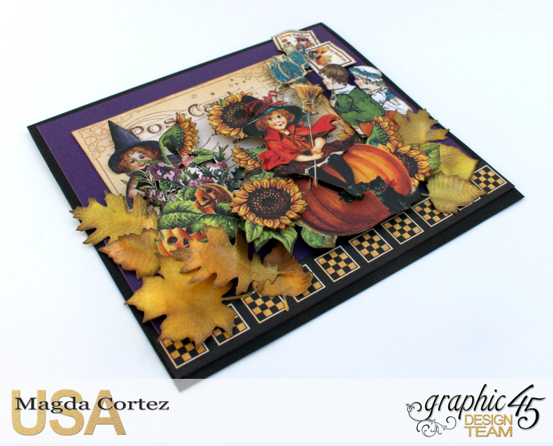 Halloween Cards _ Surprise-Happy Haunting-By Magda Cortez-Product by Graphic 45-Photo Photo 04_09-Project with Tutorial