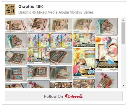 The Mixed Media Album and Art Journal Pinterest Board