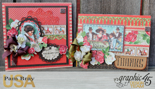 Off To The Races Cards of Encouragement with Scrapbook Adhesive by Pam Bray - Tutorial -Photo 1_1683