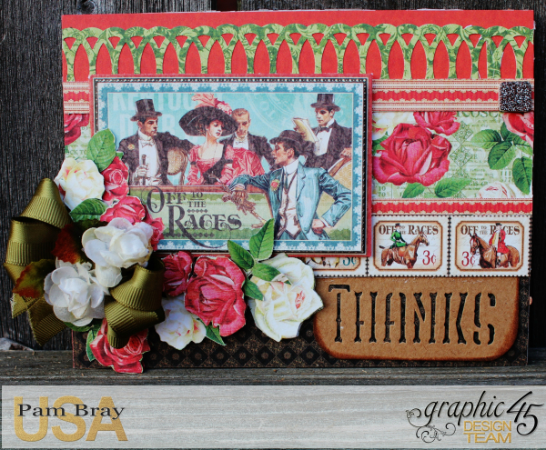 Off To The Races Cards of Encouragement with Scrapbook Adhesive by Pam Bray - Tutorial -Photo 2_1695