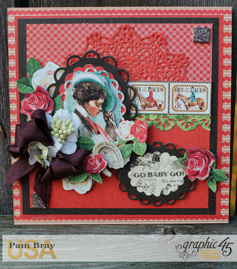 Off To The Races Cards of Encouragement with Scrapbook Adhesive by Pam Bray - Tutorial -Photo 6_1686