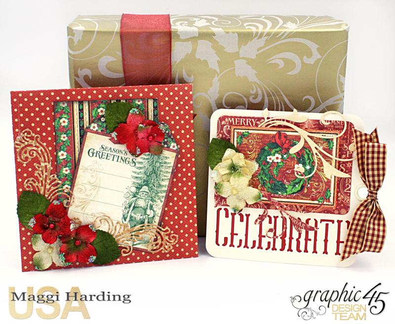 Christmas cards, St Nicholas, Tutorial Maggi Harding, Graphic 45 (02)
