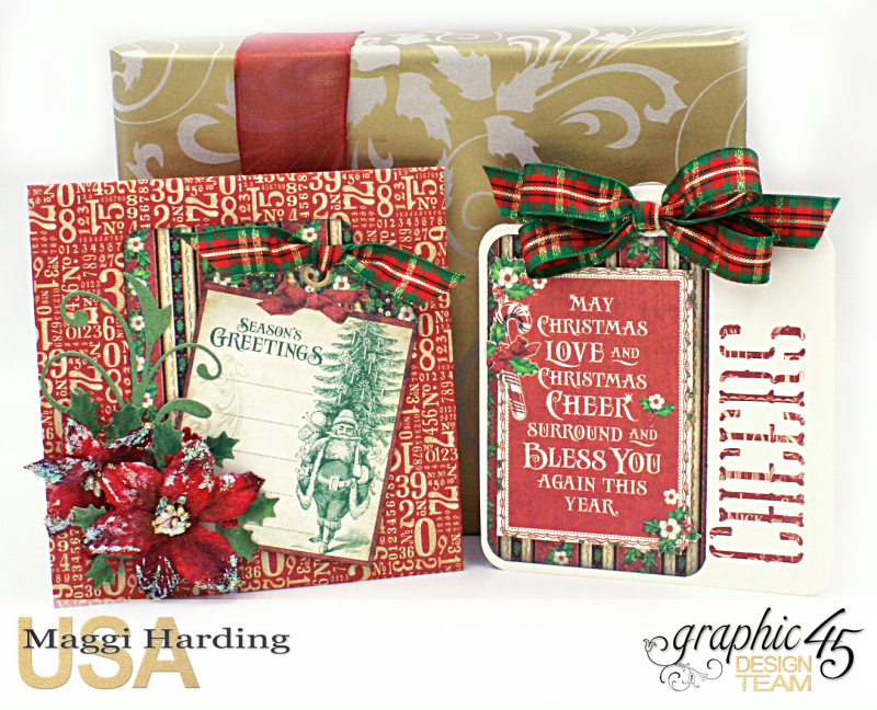 Christmas cards, St Nicholas, Tutorial Maggi Harding, Graphic 45 (01)
