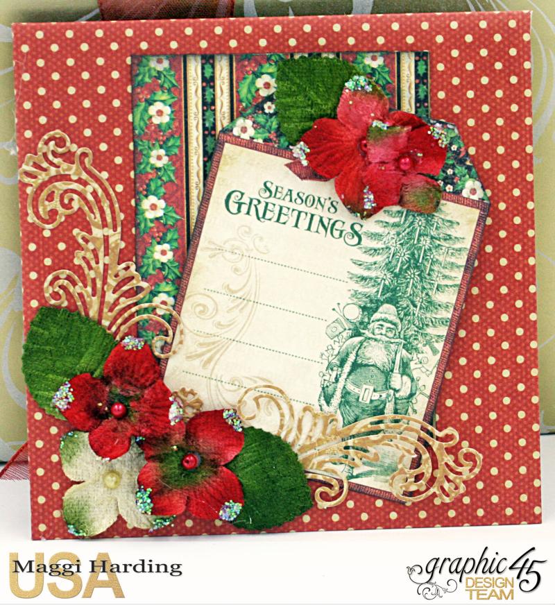 Christmas cards, St Nicholas, Tutorial Maggi Harding, Graphic 45  (08)
