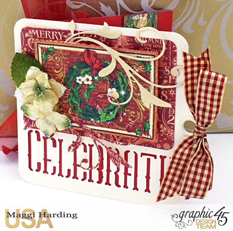 Christmas cards, St Nicholas, Tutorial Maggi Harding, Graphic 45  (07)
