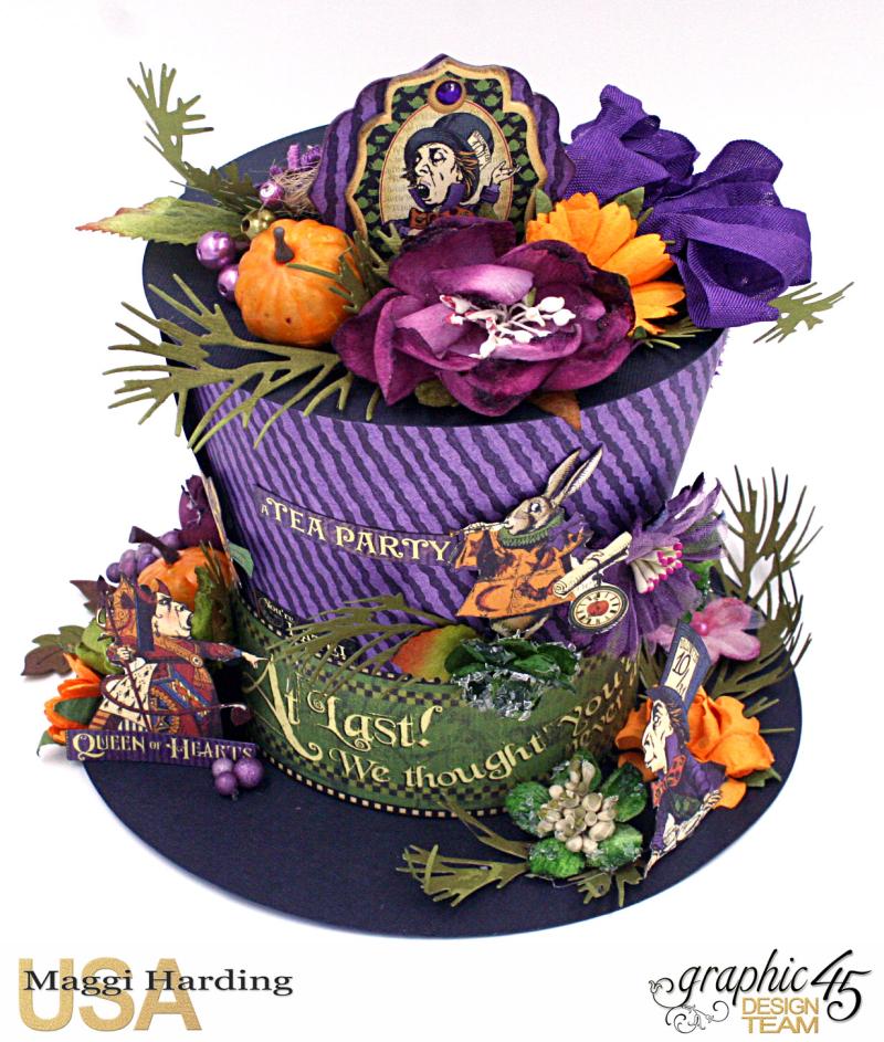 Hat, Hallowe'en in Wonderland, Maggi Harding, Graphic 45 (07)