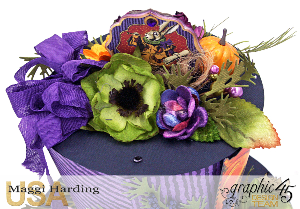 Hat, Hallowe'en in Wonderland, Maggi Harding, Graphic 45 (08)