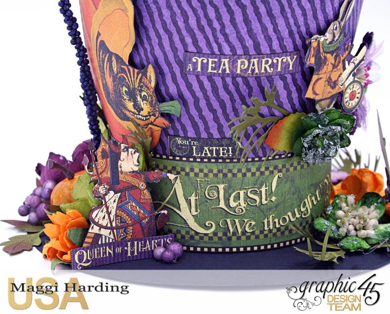 Hat, Hallowe'en in Wonderland, Maggi Harding, Graphic 45 (09)