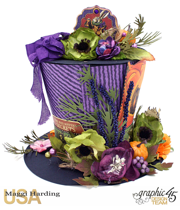 Hat, Hallowe'en in Wonderland, Maggi Harding, Graphic 45 (08)