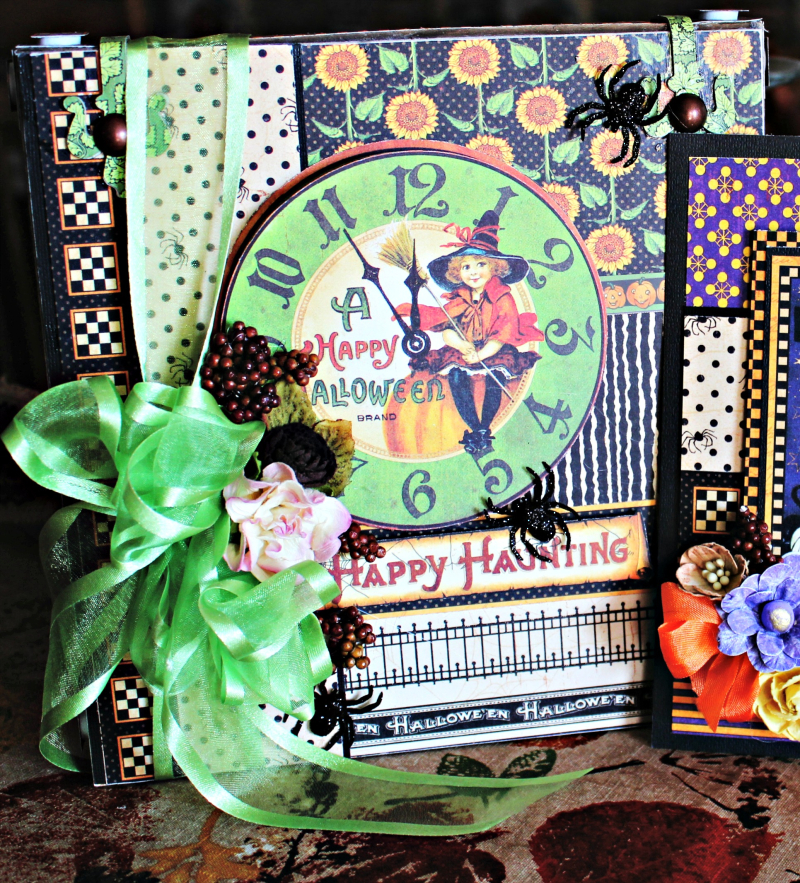 Graphic 45 Happy Haunting Pop Up Card and Box Tutorial - Pam Bray - Photo 2_1454